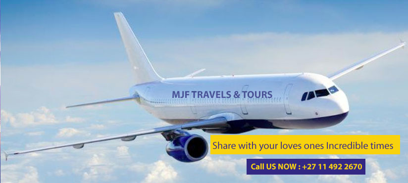 Flight Bookings - MJF TRAVEL & TOURS